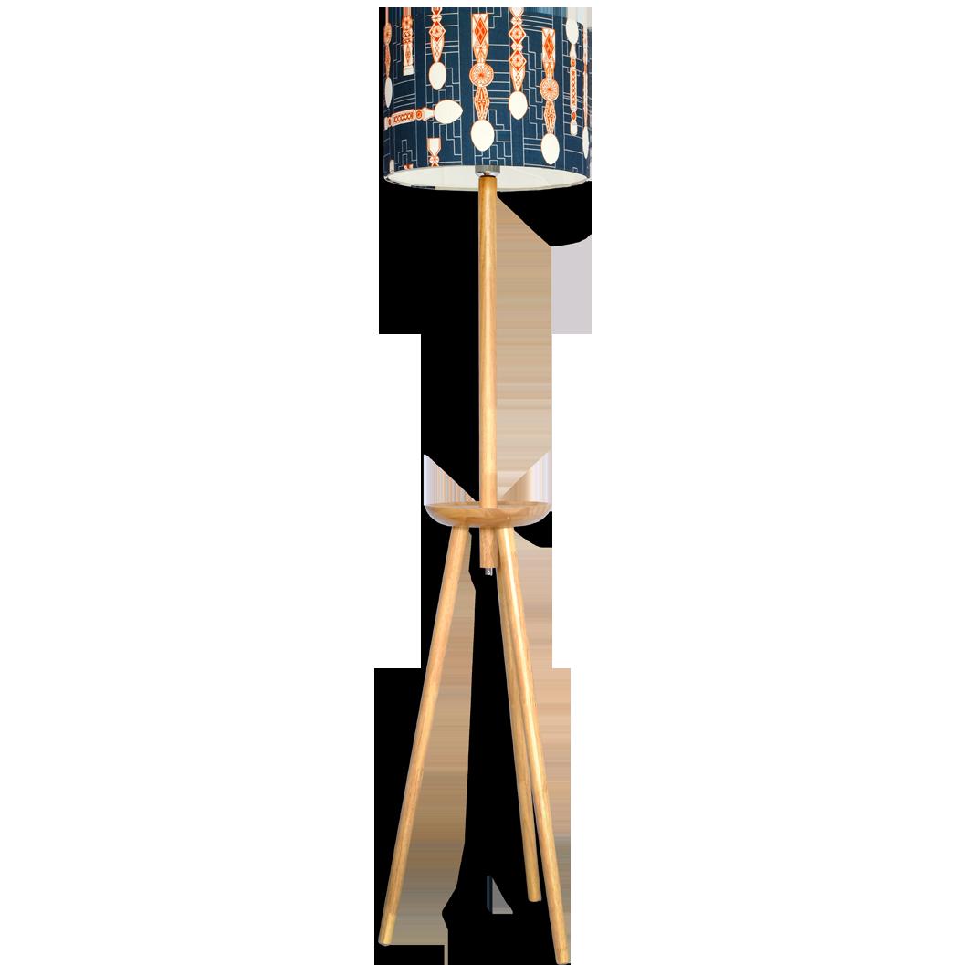 Lampadar cu abajur textil - Brumarel
