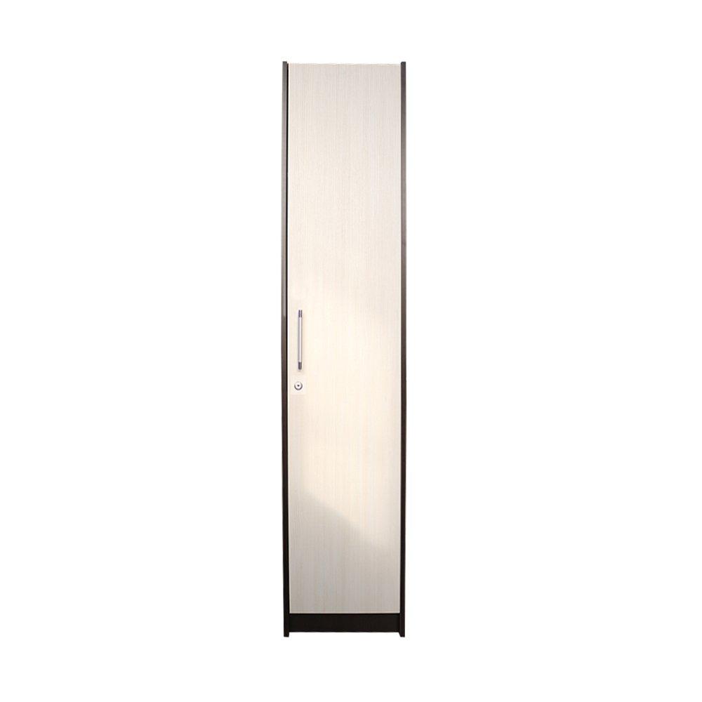Raft birou 1 usa mare, Wenge/Brad, 40 x 190 x 36 cm
