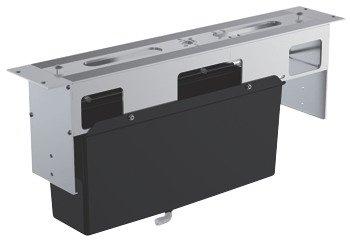 Baterie cada cu 5 gauri -cadru pentru montaj sub placa de faianta-29037000