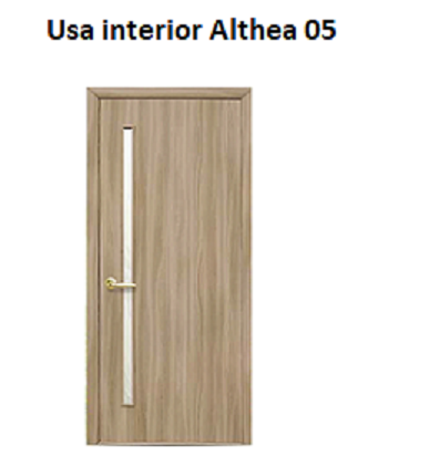 Usa interior Althea 05 cu toc fix